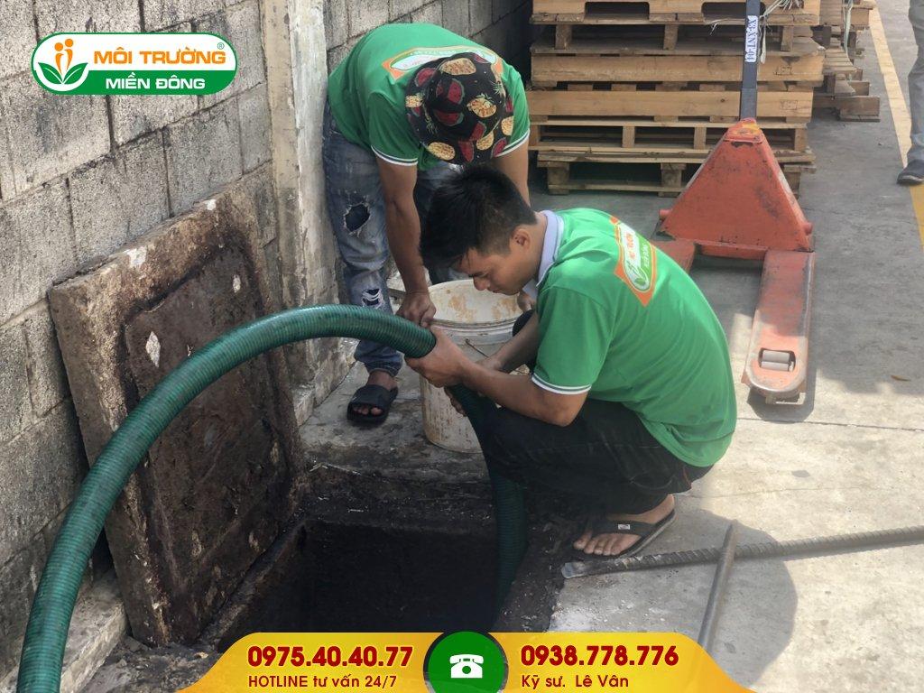Dịch vụ hút hầm vệ sinh khu công nghiệp
