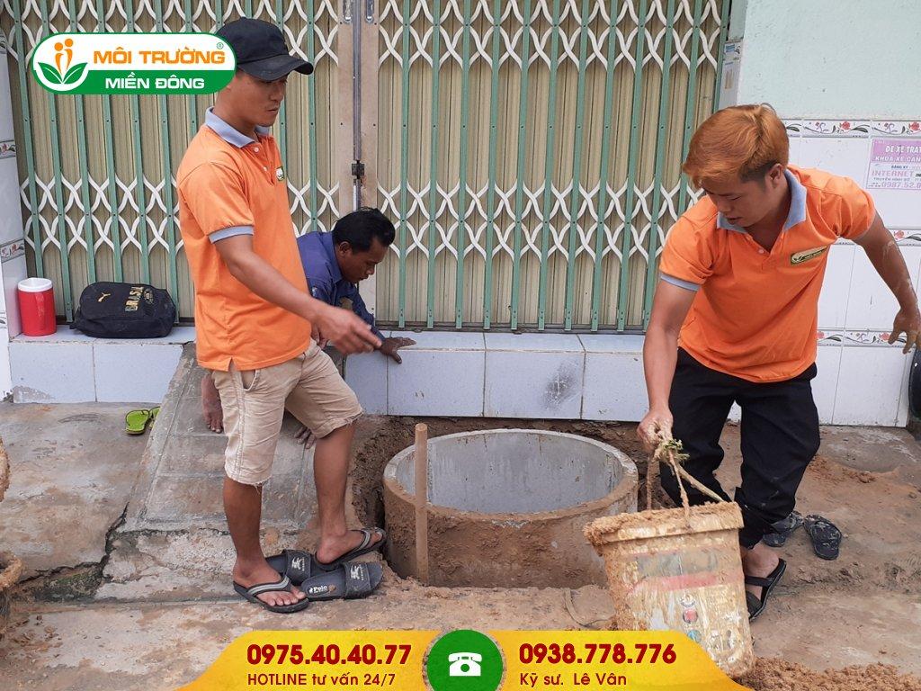 Dịch vụ sửa chữa hầm cầu