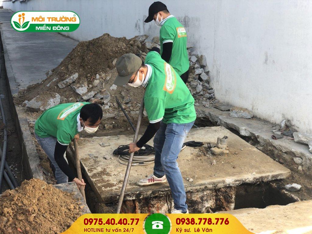 Báo giá sửa chữa nhà vệ sinh cụm công nghiệp