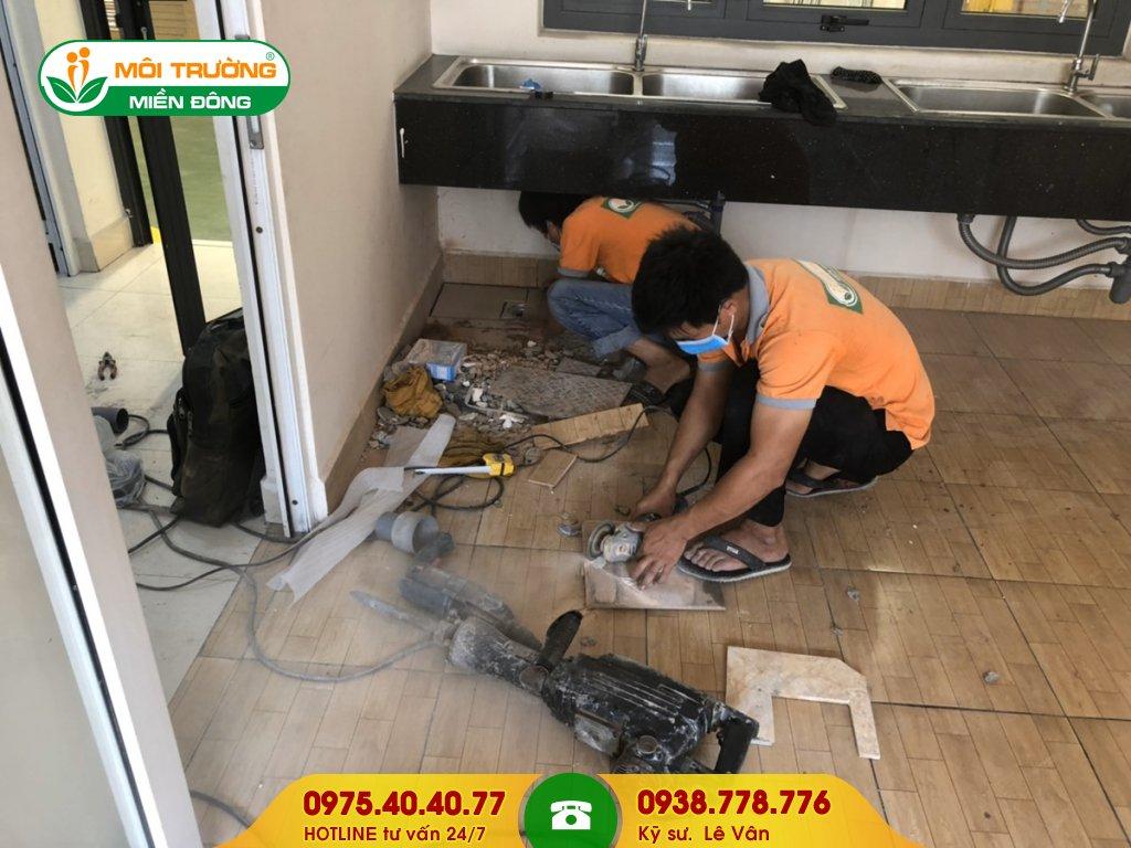Dịch vụ sửa chữa nhà vệ sinh khu công nghiệp