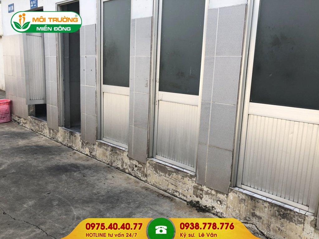 Chi phí sửa chữa nhà vệ sinh khu công nghiệp