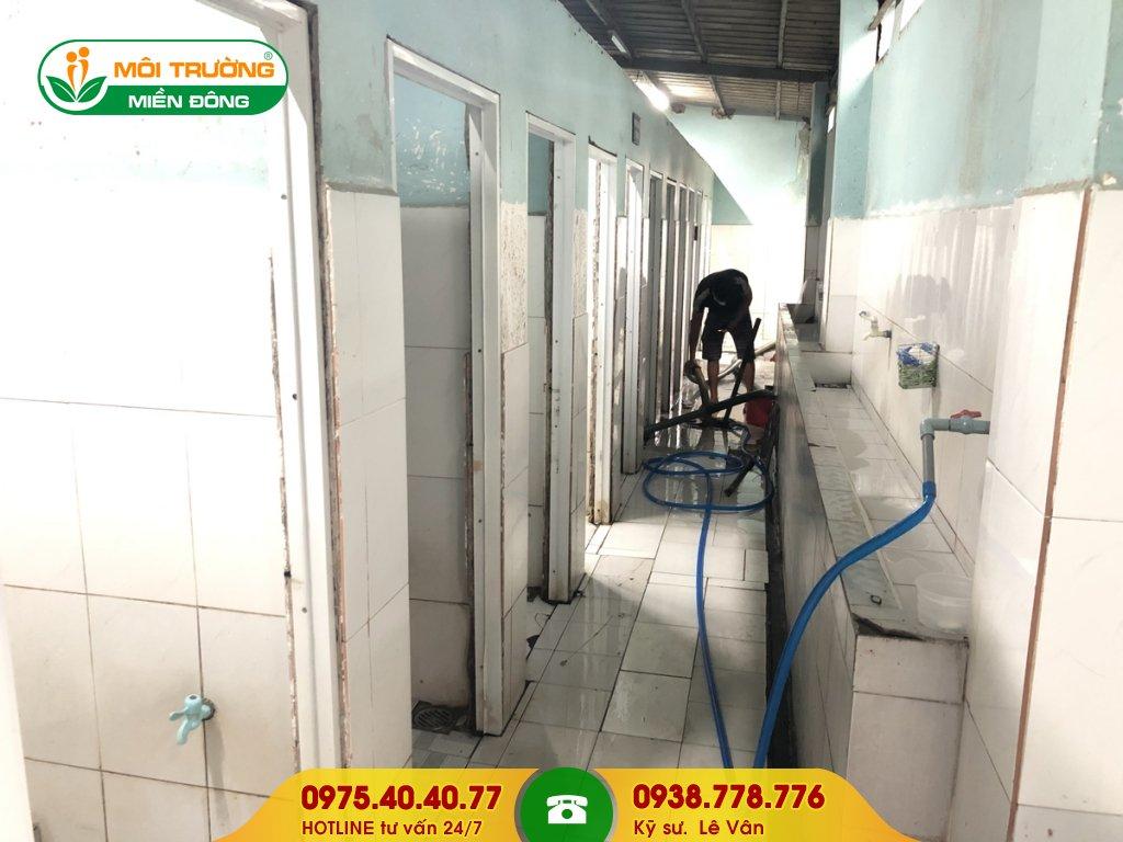 Đơn giá sửa chữa nhà vệ sinh khu công nghiệp
