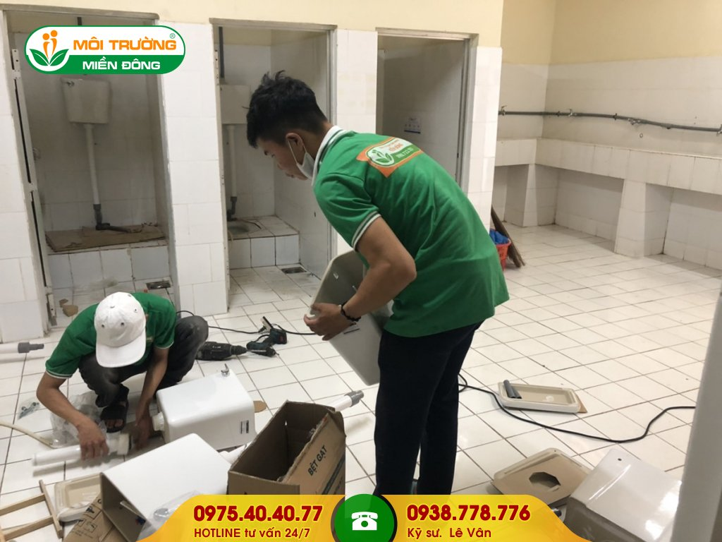 Báo giá sửa chữa nhà vệ sinh trường học