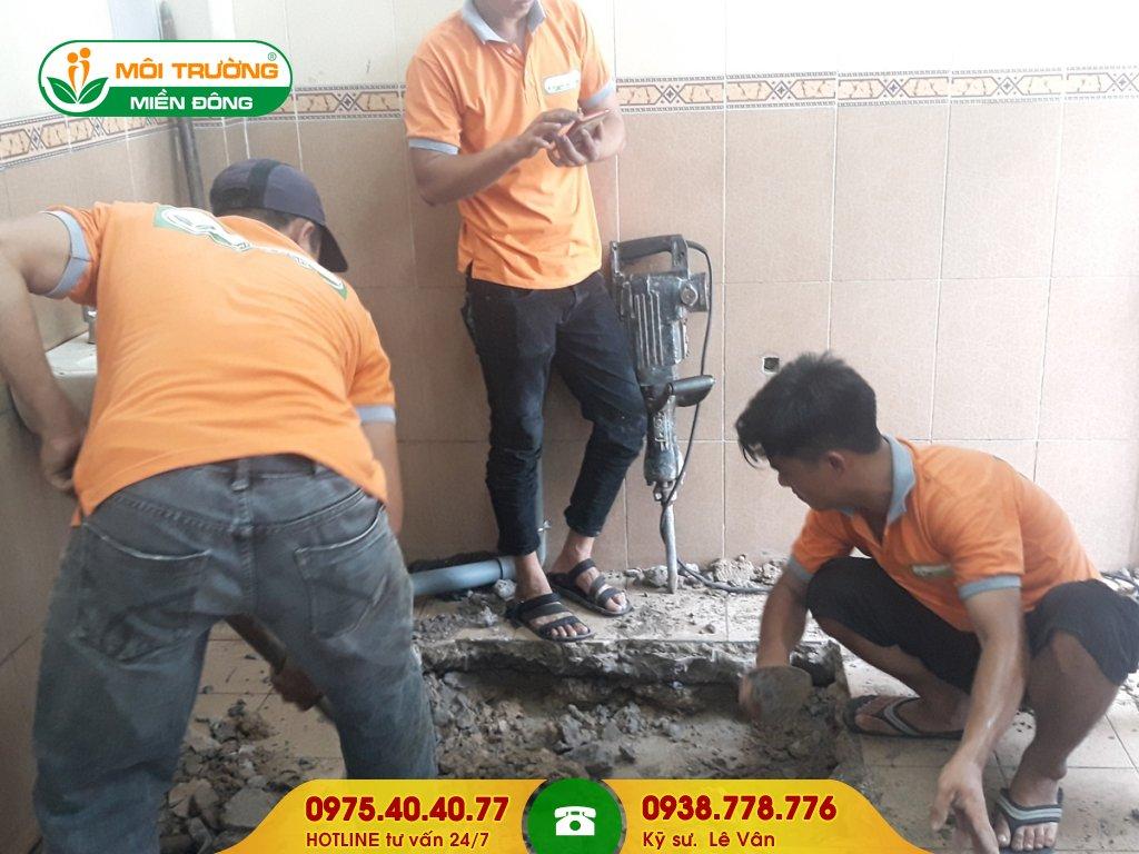 Dịch vụ sửa chữa nhà vệ sinh trường học