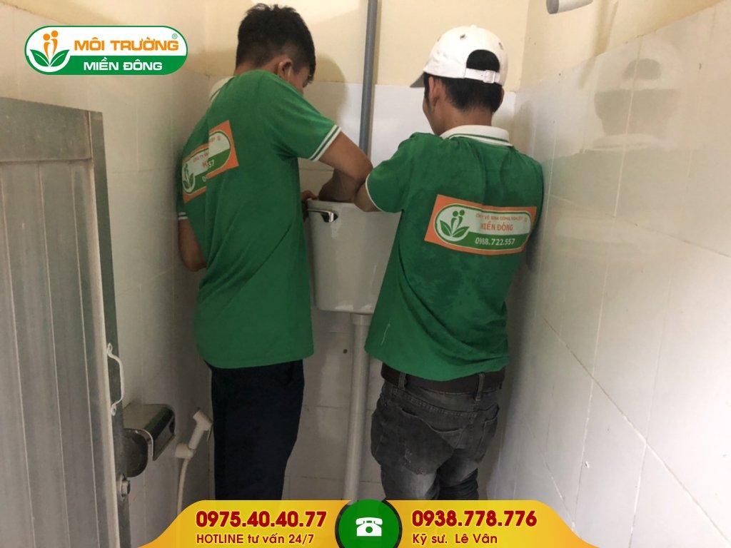 Báo giá sửa chữa thiết bị nhà vệ sinh