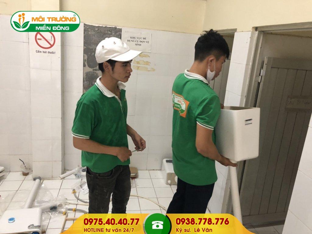 Dịch vụ sửa chữa nhà vệ sinh bệnh viện