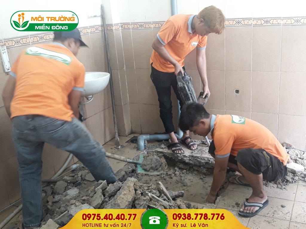 Chi phí sửa chữa nhà vệ sinh bệnh viện