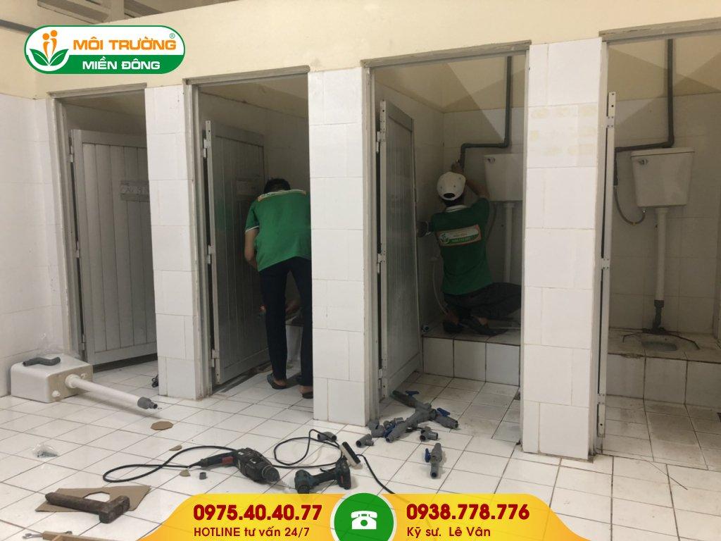 Báo giá sửa chữa nhà vệ sinh công ty