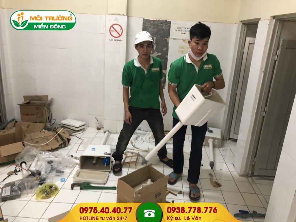Dịch vụ sửa chữa nhà vệ sinh công ty