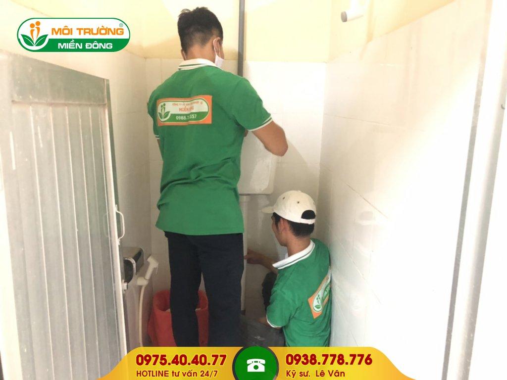 Đơn giá sửa chữa nhà vệ sinh toà nhà