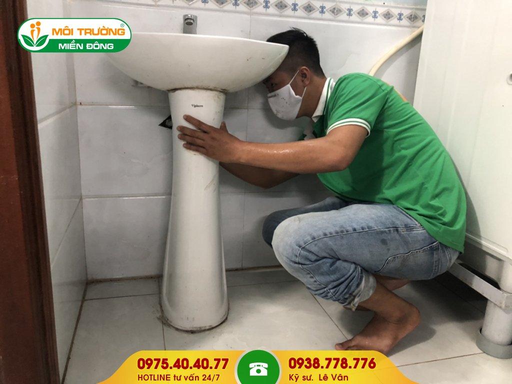Đơn giá thông tắc lavabo bệnh viện