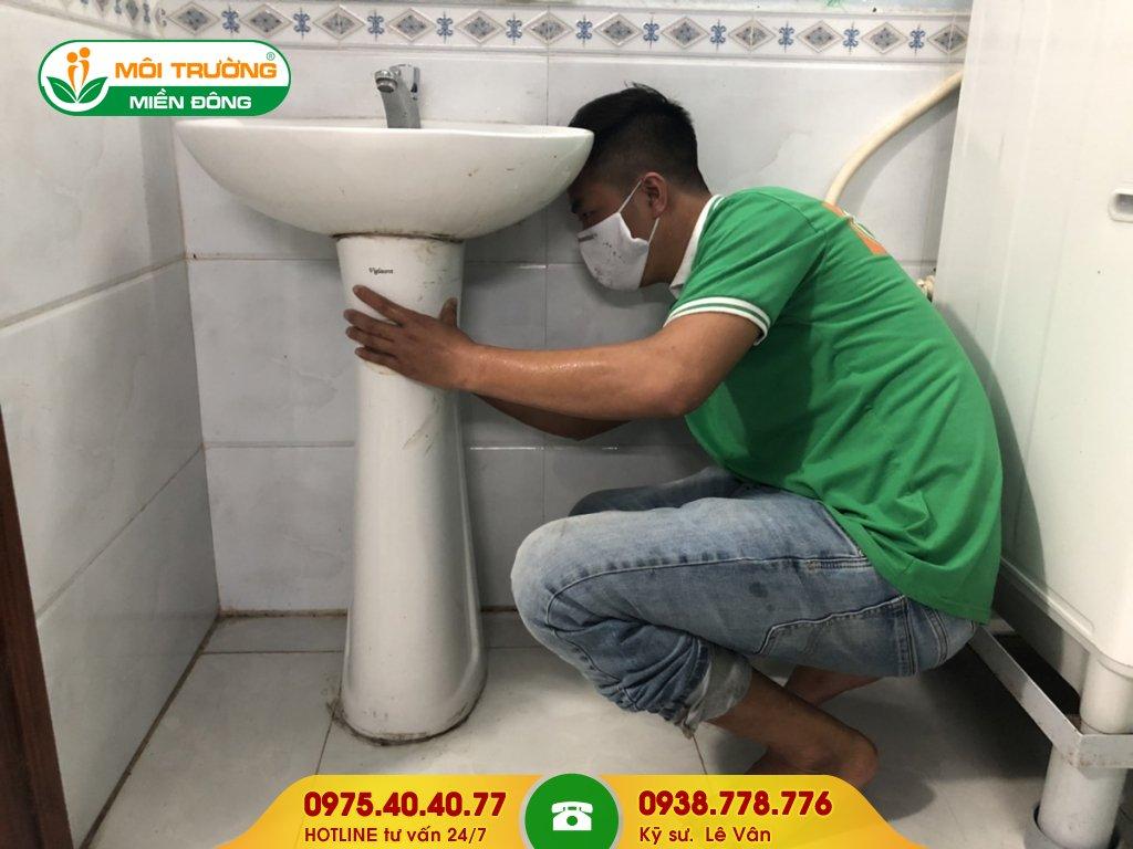 Dịch vụ thông tắc lavabo bệnh viện