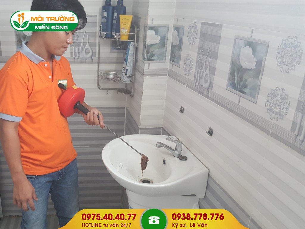 Chi phí thông tắc lavabo khu công nghiệp