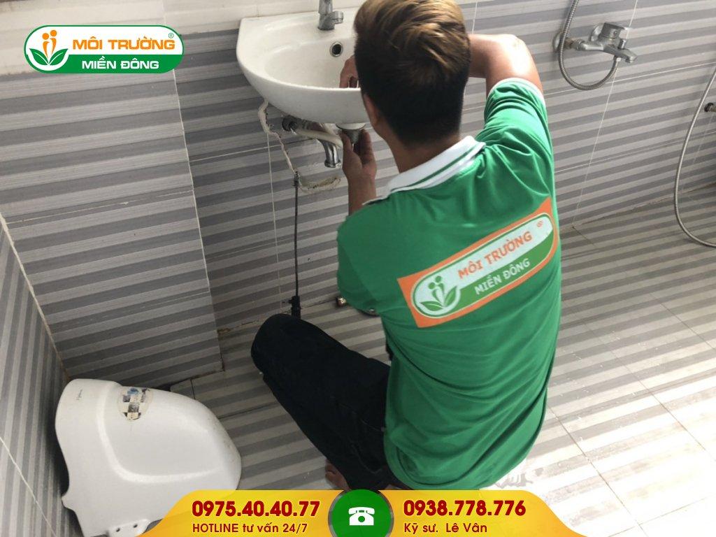 Báo giá thông tắc lavabo TTTM