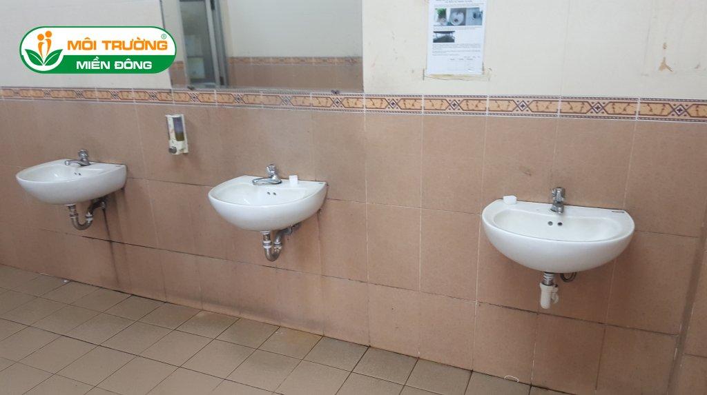 Đơn giá thông tắc lavabo xí nghiệp