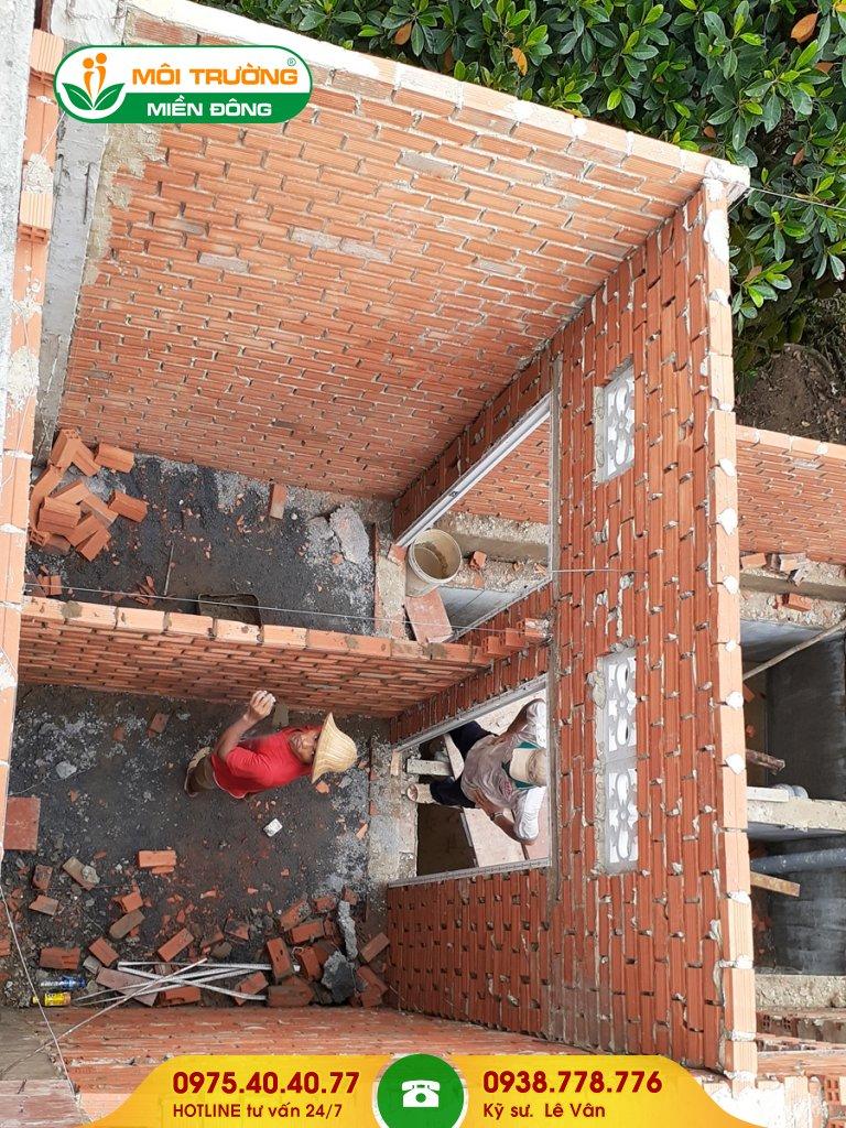 Thi công xây nhà vệ sinh khu công nghiệp