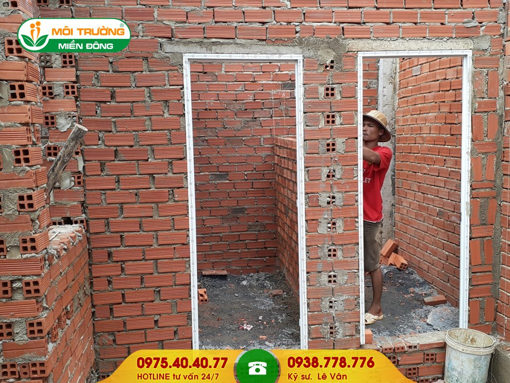 Báo giá xây nhà vệ sinh khu công nghiệp