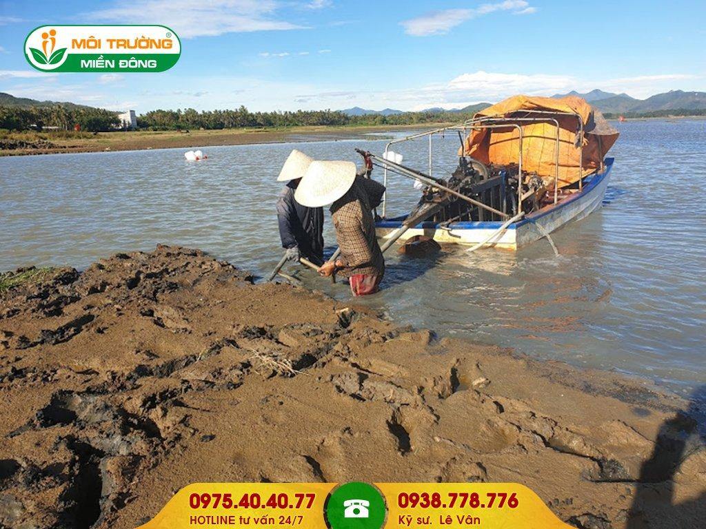 Dịch vụ nạo vét sông ngòi cầu cảng