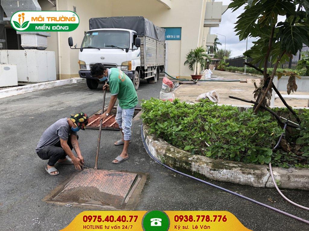 Chi phí vệ sinh đường ống thoát nước mưa