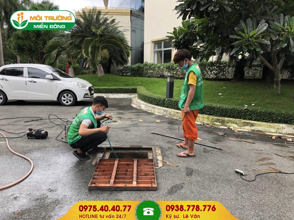 Đơn giá vệ sinh đường ống thoát nước mưa