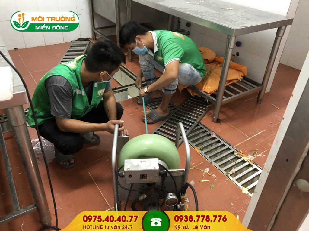Báo giá vệ sinh đường ống thoát nước thải