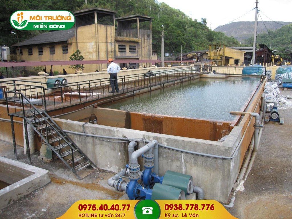 Chi phí hút nước thải công nghiệp