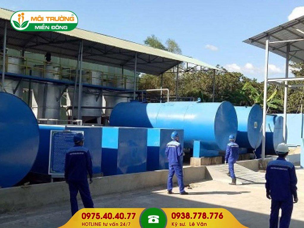Dịch vụ hút nước thải công nghiệp