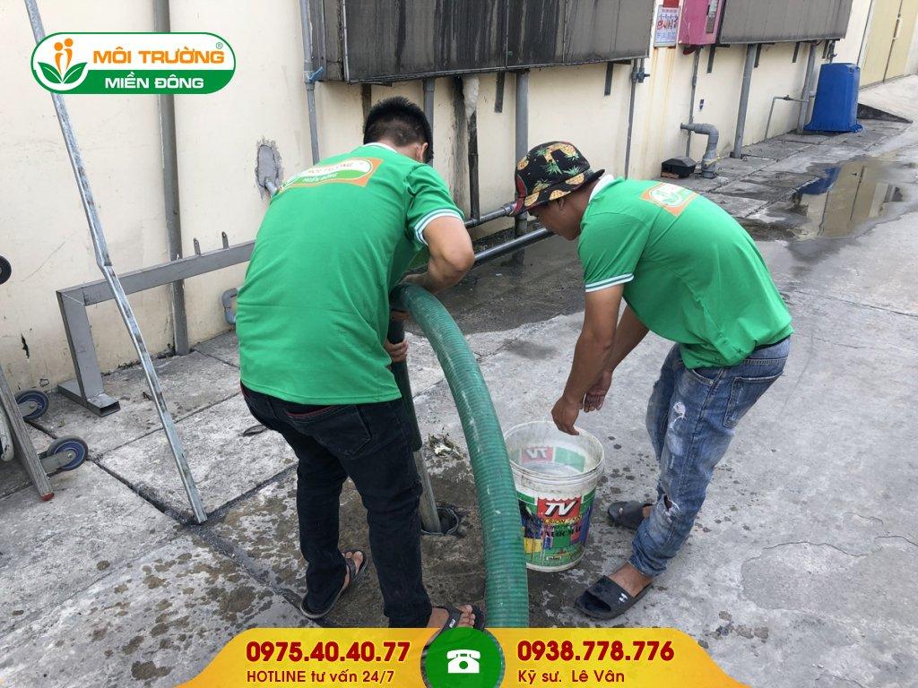 Công ty hút hầm cầu đường Nguyễn Bính