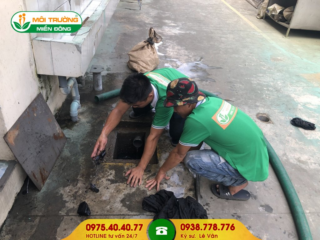 Công ty hút hầm cầu đường Trần Văn Chẩm
