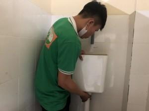 Sửa chữa nhà vệ sinh quán cafe