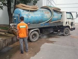 Hút chất thải khu công nghiệp