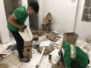 Sửa chữa thiết bị nhà vệ sinh