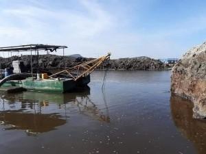Nạo vét sông ngòi cầu cảng