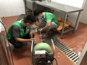 Vệ sinh đường ống thoát nước thải