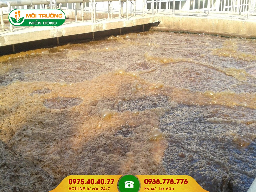 Hút bùn vi sinh cụm công nghiệp