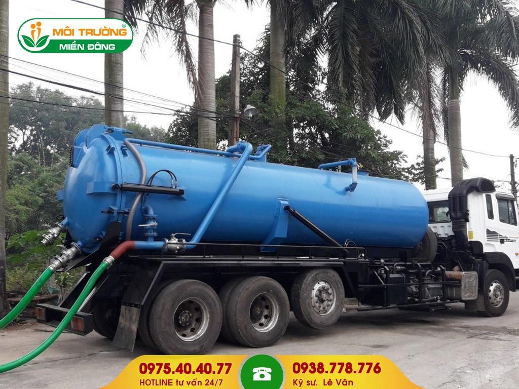Hút nước thải công nghiệp