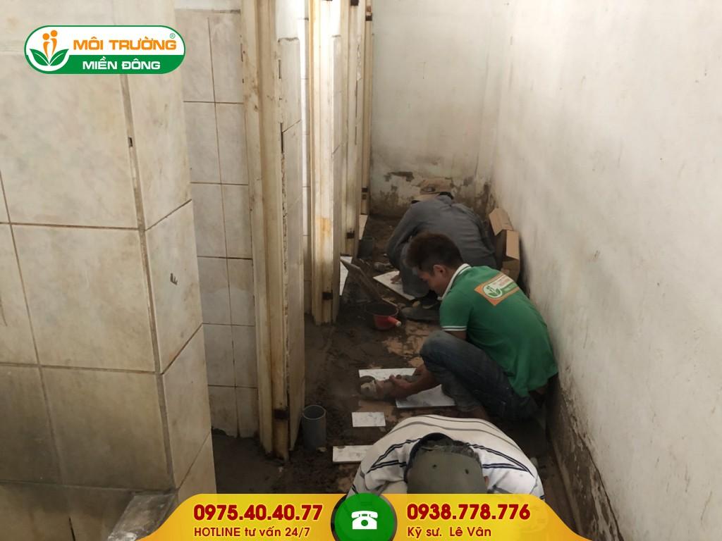 Sửa chữa nhà vệ sinh khu công nghiệp