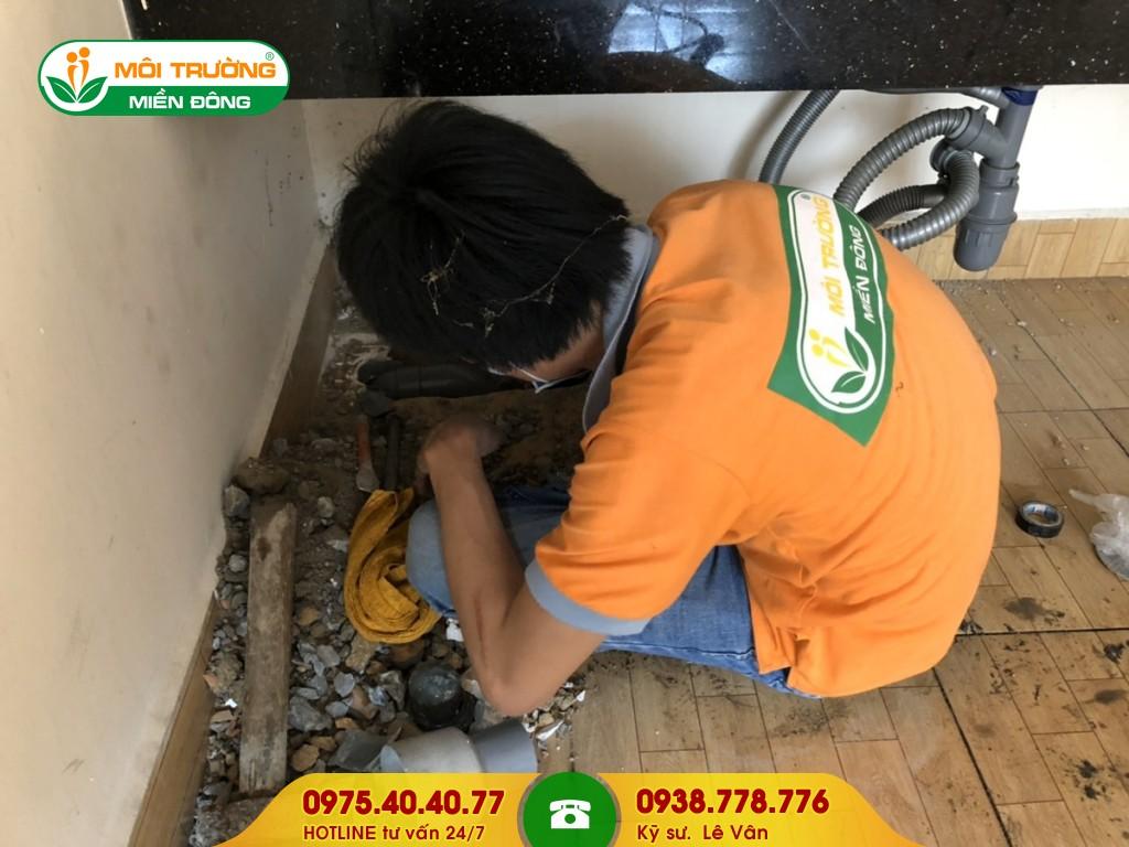 Sửa chữa nhà vệ sinh hộ gia đình