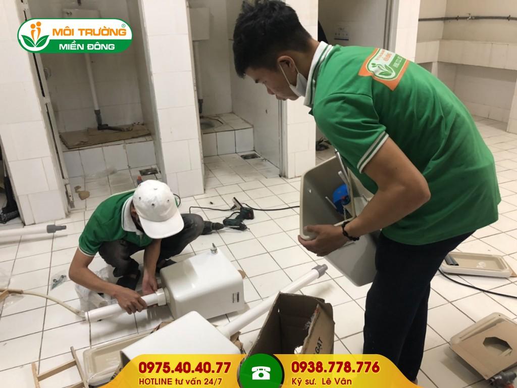 Sửa chữa nhà vệ sinh bệnh viện