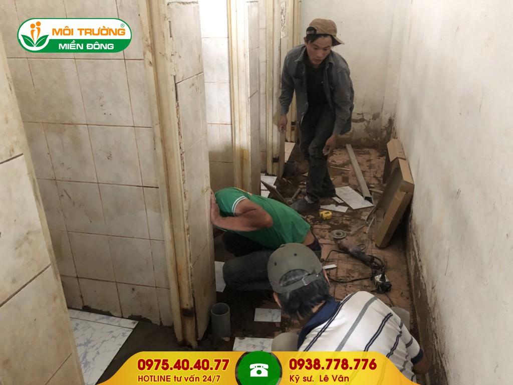 Sửa chữa nhà vệ sinh trường học